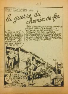 Extrait de Kit Carson -9- La guerre du chemin de fer
