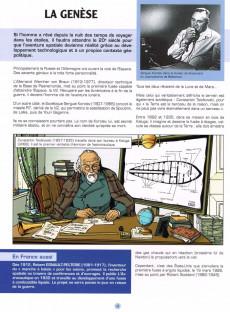 Extrait de Lefranc (Les voyages de/Les reportages de) -10- La conquête de l'espace