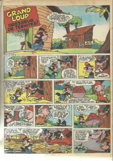 Extrait de Mickey Géant (album) -1623bis- Numéro relié de spécial journal de Mickey géant n° 1623 bis