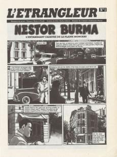 Extrait de L'Étrangleur - Nestor Burma -1a- L'envahissant cadavre de la plaine Monceau