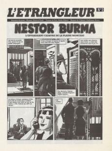 Extrait de L'Étrangleur - Nestor Burma -2a- L'envahissant cadavre de la plaine Monceau (2)