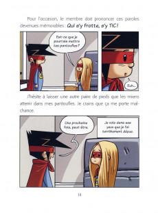 Extrait de Capitaine Static -7- Les FanaTICs!