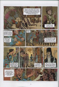 Extrait de Le tsar fou -INT- Les aventures du Tsar fou