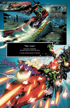 Extrait de DC Univers Rebirth : Deathstroke - Deathstroke