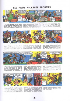 Extrait de Les pieds Nickelés - La Collection (Hachette, 2e série) -6- Les Pieds Nickelés sportifs