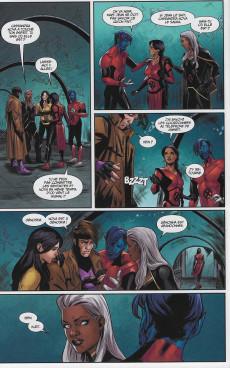 Extrait de X-Men (Marvel France 6e série) -5- Guerre des dieux