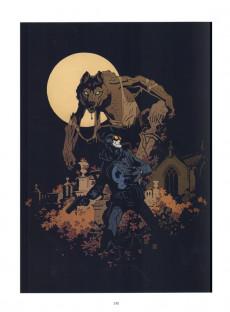 Extrait de Hellboy (Intégrale Deluxe) -HS- La bible infernale