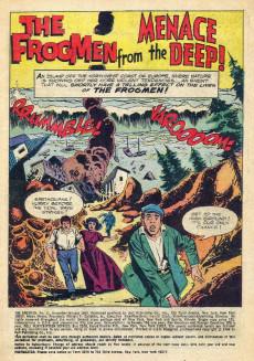 Extrait de Frogmen (The) (1962) -11- A Frightening Monster Appears!