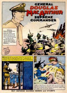 Extrait de War Heroes (1942) -1- General Douglas MacArthur