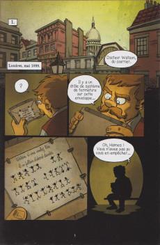 Extrait de Sherlock Holmes - La BD dont vous êtes le héros -6- Enquêtes internationales