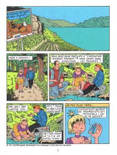 Extrait de Percelot (Les aventures de) -4- Les algues d'Abaddon