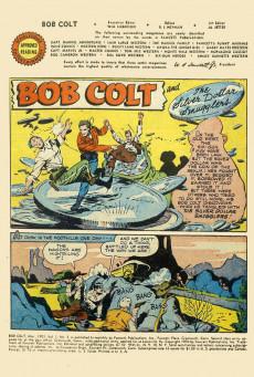 Extrait de Bob Colt (1950) -3- The mysterious Black Knight of the Prairie !