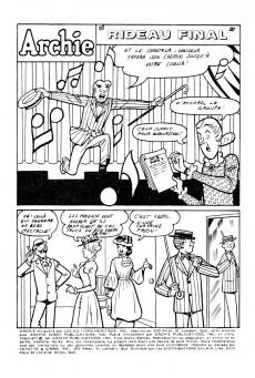 Extrait de Archie (1ère série) (Éditions Héritage) -41- Rideau final