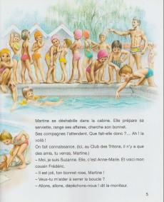 Extrait de Martine -25c- Martine apprend à nager