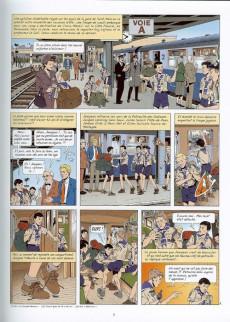 Extrait de Lefranc - La Collection (Hachette) -22- Les enfants du bunker
