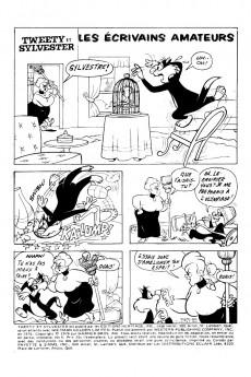 Extrait de Tweety et Sylvester (Éditions Héritage) -6- Les écrivains amateurs