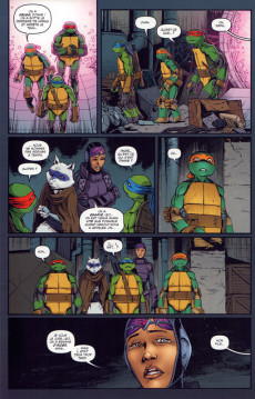 Extrait de Teenage Mutant Ninja Turtles - Les Tortues Ninja (HiComics) -7- L'attaque sur le technodrome