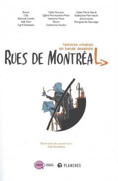 Extrait de Rues de Montréal - Histoires urbaines en bandes dessinées