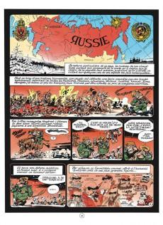 Extrait de Spirou et Fantasio -422€- Spirou et Fantasio à Moscou