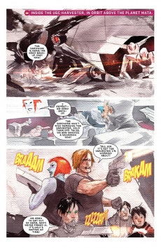 Extrait de Descender (Image comics - 2015) -31- The End of the Universe: Part 3 of 4