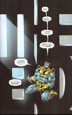 Extrait de Thanos (One shots) - Thanos : La fin de l'univers Marvel