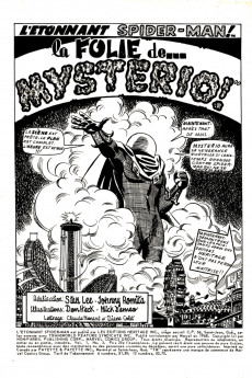 Extrait de L'Étonnant Spider-Man (Éditions Héritage) -3- La Folie de... Mysterio !