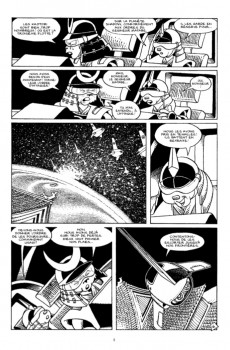 Extrait de Usagi Yojimbo -HS2- Space Usagi