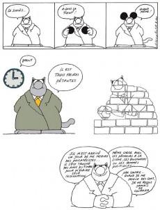 Extrait de Le chat -2a87- Le retour du chat