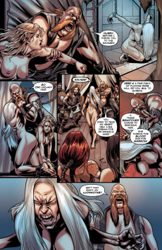 Extrait de Bella Donna - Fire and fury -1- Issue 1