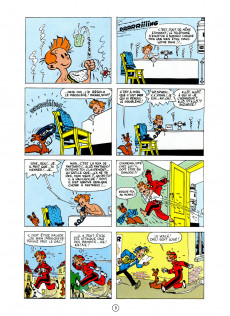 Extrait de Spirou et Fantasio -4c2000HC- Spirou et les héritiers