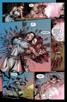 Extrait de Bella Donna - Fire and fury -4- issue 4