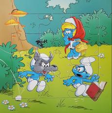 Extrait de Les schtroumpfs (Jeux) - Mon livre puzzle