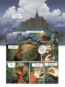 Extrait de Yann - Fées et Légendes -1- Les fondations du Mont-Saint-Michel