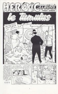 Extrait de Félix (Tillieux) (N&B) -1- Les aventures de Félix