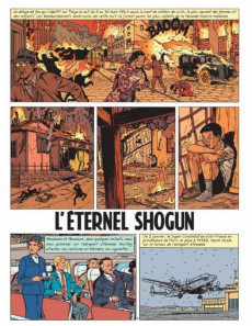 Extrait de Lefranc - La Collection (Hachette) -23- L'éternel shogun