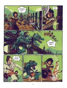 Extrait de Le sceau du dragon -1- Ari, le chasseur