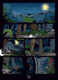 Extrait de Vick et Vicky (Les aventures de) - Les sorcières de Brocéliande