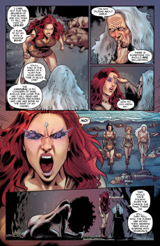 Extrait de Bella Donna - Fire and fury -10- Issue 10