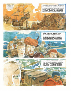 Extrait de L'amirale des mers du Sud - L'Amirale des mers du Sud