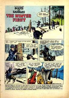 Extrait de Four Color Comics (Dell - 1942) -1116- Boots and Saddles The Story of the Fifth Cavalry