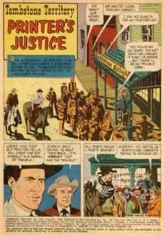 Extrait de Four Color Comics (Dell - 1942) -1123- Tombstone Territory