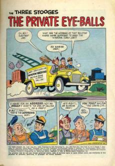 Extrait de Four Color Comics (Dell - 1942) -1127- The Three Stooges