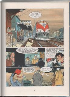 Extrait de Bernard Prince -13a81- Le port des fous
