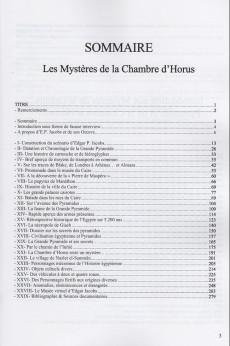Extrait de Blake et Mortimer (Divers) - Les mystères de la chambre d'Horus