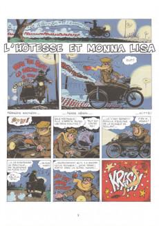 Extrait de Natacha -7b2011- L' hôtesse et Mona Lisa