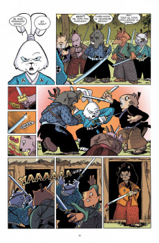 Extrait de Usagi Yojimbo (en couleur) -1- Livre premier : Rônin