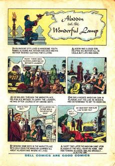 Extrait de Dell Junior Treasury (1955 - 1957) -2- Aladdin and the Wonderful Lamp