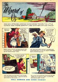 Extrait de Dell Junior Treasury (1955 - 1957) -5- The Wizard of Oz