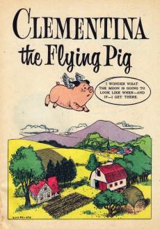 Extrait de Dell Junior Treasury (1955 - 1957) -9- Clementina the Flying Pig