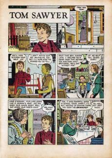 Extrait de Dell Junior Treasury (1955 - 1957) -10- The Adventures of Tom Sawyer